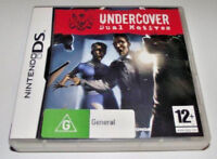 Undercover Dual Motives Nintendo DS 3DS Game *Complete*