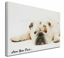 More details for bulldog 'love you dad' x-large 30