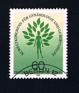 GERMANIA BERLINO BERLIN FRANCOBOLLO GINECOLOGIA E OSTERTRCIA 1985 timbrato(BB712