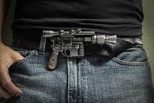 NEW Star Wars ANH style Han solo DL-44 Blaster Belt buckle Greedo killer