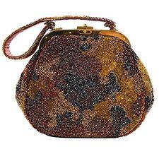 Early Nettie Rosenstein Hand-Beaded Bag