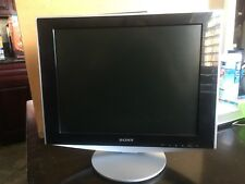 """Sony SDM-HS53 15"""" LCD Monitor with Power Cord"""