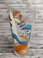 Vintage Pepsi Collector Series Glass 1976 Road Runner And Wile E Coyote