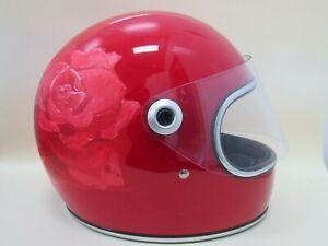 Biltwell Gringo S ECE Gloss Blood Red Helmet Size XS