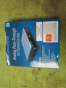 new Digital Stream DTX9950 Analog Pass-Through DTV Converter Box for Analog TV