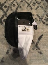 Absolute Fencing Gear Mask Helmet Black Screen White Collar Size Large