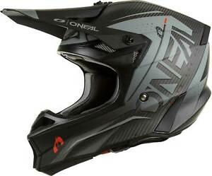 O'Neal 10 SRS Carbon Prodigy Helmet - MX Motocross Dirt Bike Off-Road MTB ATV