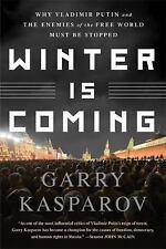 """Winter Is Coming"": Why Vladimir Putin ... BRAND NEW book by Garry Kasparov 2016"