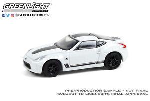 Greenlight 1/64 Tokyo Torque 9 2019 Nissan 370Z Hertiage Edition White 47070F
