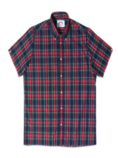 Brutus Trimfit Check Shirt/xmas Tartan - Large Summer Special