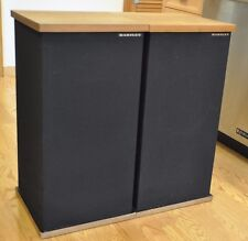 Rare Vintage Hartley H-200 Stereo Speakers