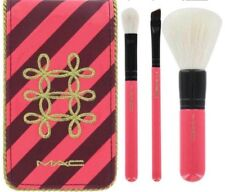MAC Nutcracker Sweet Essential Cosmetic Makeup 4pc Travel Brush Kit Pouch Set
