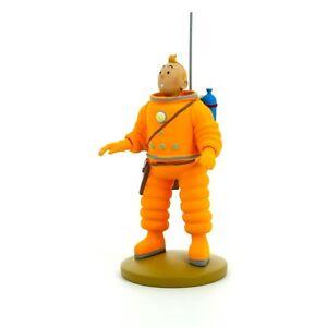 Figurine de collection Tintin en cosmonaute 15cm Moulinsart