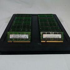 LOT 50 HYNIX HYMP112S64CP6-Y5 1GB DDR2 PC2-5300 667MHz SODIMM MEMORY RAM