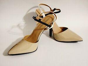 Christian Siriano Women's Kayla Nude Pump Heel Shoes, Size 13, New with Box