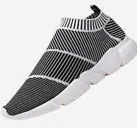 Men's Slip into penny Shoes Breathable Sports Running Casual Athletic Sneakers