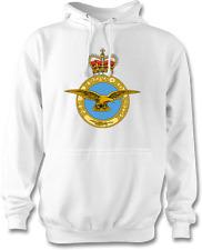 Royal Air Force per intraprendere AD ASTRA Felpa con Cappuccio Bianco