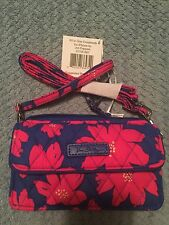 Vera Bradley All In One Crossbody For Iphone 6+ Art Poppies NWT Free Shipping