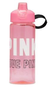 VICTORIA'S SECRET PINK COLLEGIATE ROSE CHIFFON WATER BOTTLE 32 FL OZ NWT HANDLE