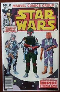 Marvel Comics Group Star Wars #42 1980 1st Appearance of Boba Fett