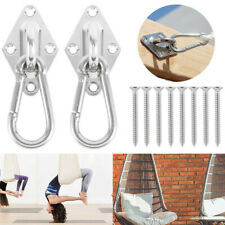 800lb Heavy Duty Hammock Swing Hanging Chair Chains Hooks Adjustable Height