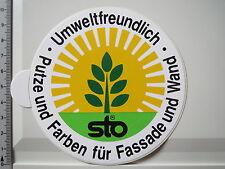 Aufkleber Sticker STO Gelsenkirchen Farben Putze Wand Fassade (3868)