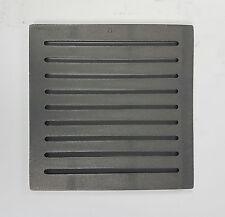Grille à Cendre 22 X 22 cm en Fonte Rouille Rouillée Cheminée à Spartherm Poêles
