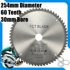 254mm 60T 30mm Bore High-speed steel Circular Saw Blade cutter &Reduction Ring