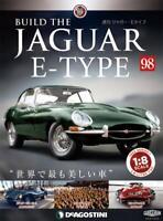 DeAGOSTINI Weekly Build THE JAGUAR E-TYPE 1//8 die cast model Vol.43 from japan