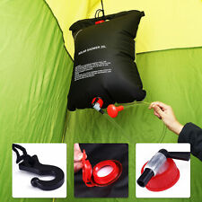 20L Portable Shower Heating Pipe Bag Solar Water Heater Outdoor Camping
