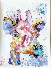 Artist Watercolour Purple Art Paintings