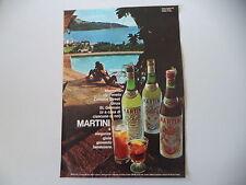 advertising Pubblicità 1969 MARTINI