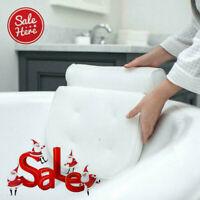 3D Mesh Bath Pillow Spa Pillow Head Rest for Tub Bathtub with 6 Suction Cup