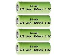 4 Stück Akku Ni-MH 2/3AAA 400mAh 1,2V für SOLAR-Leuchten Deko Micro AAA Akkus