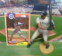 1994   KEN GRIFFEY - Starting Lineup -SLU - Figure & Card - SEATTLE MARINERS