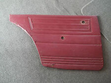 DATSUN 1600 BLUEBIRD 510 SSS Red DOOR TRIM