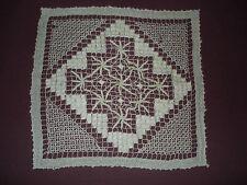 #990  Beautiful Vintage Filet Lace Doily   26cm/26cm(10''x10'')