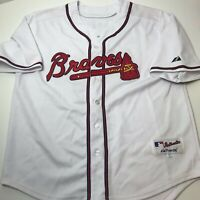 Atlanta Braves Chipper Jones Jersey Majestic Size 50 XL White