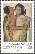 Austria 2016 Koloman Moser/Artists/Paintings/Art/Nude/Naked/People 1v (at1218)