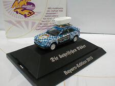 """Herpa 922654 # Audi 80 B4 Coupe """" Die bayrischen Bäder 2015 Ed."""" 1:87 in PC-Box"""