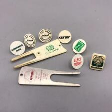 Vintage Lot of Golf Divot Tools and Ball Markers