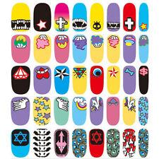 Multi-Coloured Nail Art