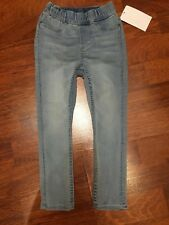 H&M Girls 18-24 Month 1.5-2 Yr Light Blue Elastic Skinny Jeans Jeggings NWT