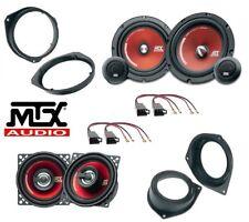 MTX Kit 6 casse per FIAT GRANDE PUNTO con ADATTATORI E SUPPORTI PHONOCAR