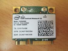 Intel Centrino Wireless N130 Half Mini WLAN Wi-Fi Card 130BNHMW 300E 305E (W168)
