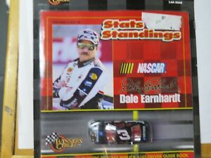 Dale Earnhardt #3 STATS AND STANDINGS W/Guidebook new w/ 1:64 scale NASCAR