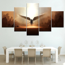 The Game Two Steps From Hell Archangel Canvas Painting Print Home Decor 5 Pieces