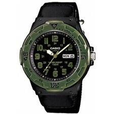 Casio Mrw-200hb-1bvef Men's Quartz Watch With Black Dial Analogue Display and BL