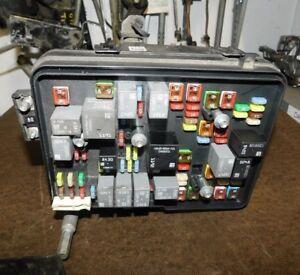2012 Chevy Equinox GMC Terrain Fuse Box Panel Genuine OEM W/90 Day Warranty 2.4L