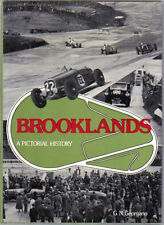 Brooklands A Pictorial History by Georgano Motor Racing Aeroplane First Edition